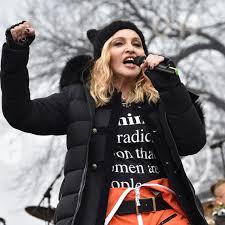 Madonna burns some bridges in her fiery speech