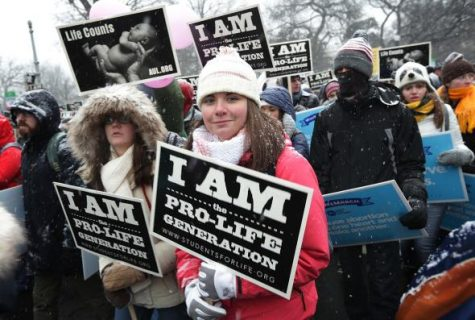 Annual pro-life demonstration occurred on January 27th