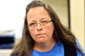 Kim Davis is back in the news