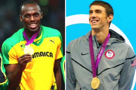 Phelps bests Bolt