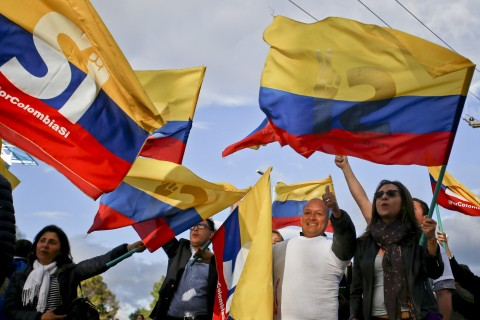 Columbian - FARC treaty is voted down