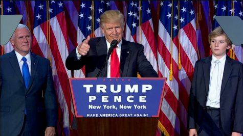 Donald Trump becomes the next president of the the U.S.A