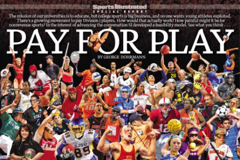 College athletes want pay for play