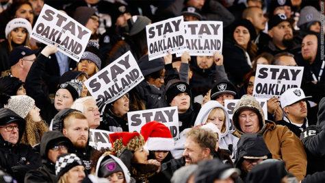 The Raiders move to Vegas