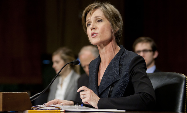 Sally+Yates%2C+during+her+confirmation+hearing+before+the+Senate+Judiciary+Committee+to+be+Deputy+Attorney+General+at+the+U.S.+Department+of+Justice.++March+24%2C+2015.++Photo+by+Diego+M.+Radzinschi%2FTHE+NATIONAL+LAW+JOURNAL.