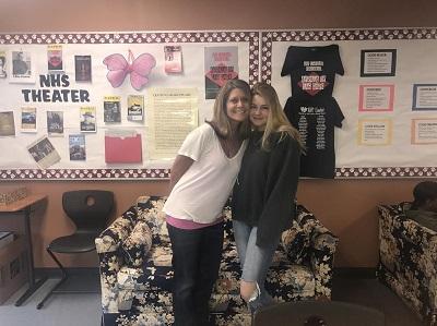 Students bid farewell to Ms. Dianne Vagnini