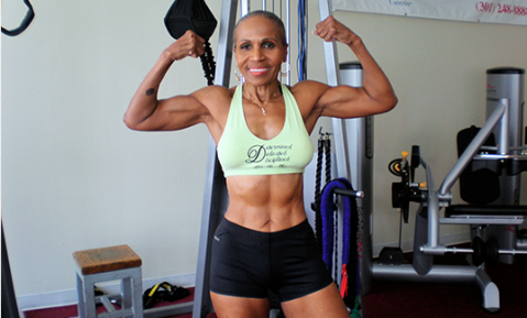 Eighty-one year old bodybuilder becomes a star