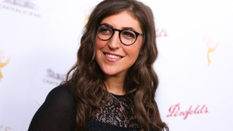 Mayim Bialik arrives at the 2015 Performers Peer Group Celebration Presented by The Television Academy at the Montage Hotel on Monday, Aug. 24, 2015, in Beverly Hills, Calif. (Photo by Rich Fury/Invision/AP)