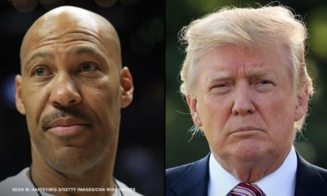 Trump and Ball spar on Twitter