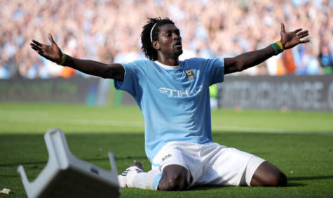 Emmanuel Adebayor shares his story