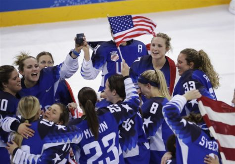 US Women's Hockey bests Canada for the gold