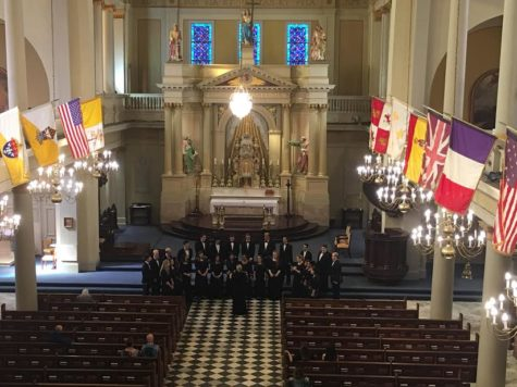The Chamber Singers perform in New Orleans