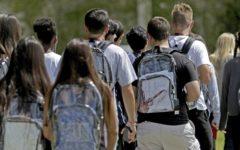 Marjory Stoneman Douglas High School introduces clear backpacks