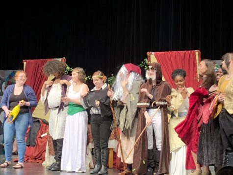 "NHS Theater brings ""The Dragon"" to life"