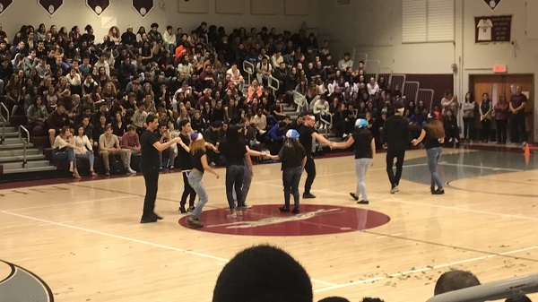 NHS holds its first spring pep rally