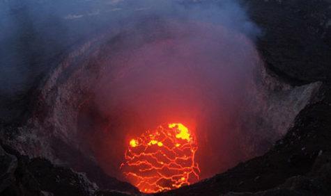 Kilauea in Hawaii erupts