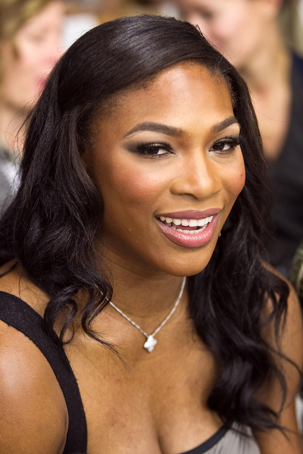 NEW YORK - SEPTEMBER 14:  Serena Williams attends the Rodarte Spring 2011 fashion show during Mercedes-Benz Fashion Week on September 14, 2010 in New York City.  (Photo by Paul Morigi/WireImage)