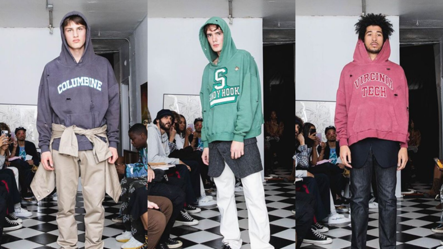 Fashion+brand+Bstroy+debuts+school-shooting+emblazoned+sweatshirts+at+NYFW%3B+incites+outrage