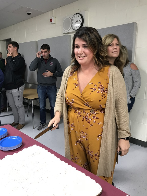 NHS says good bye to Ms. Wallace