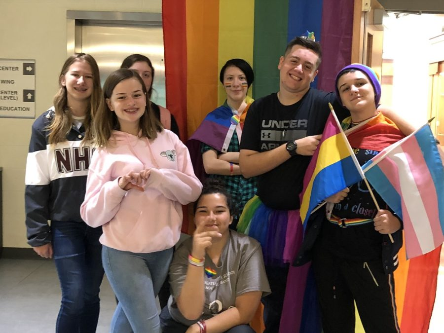 NHS celebrates National Coming Out Day