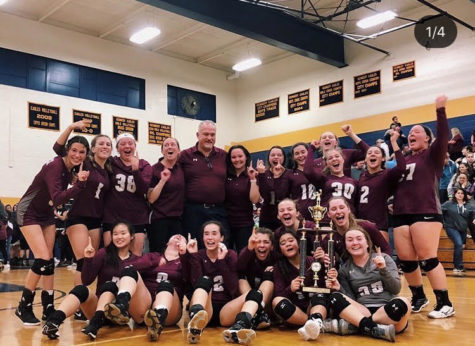 Naugy volleyball wins NVLs