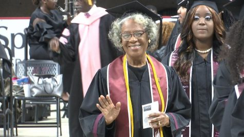 Donzella Washington, 80, earns degree