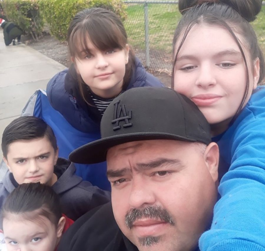 A father and three children died in a fire on Christmas