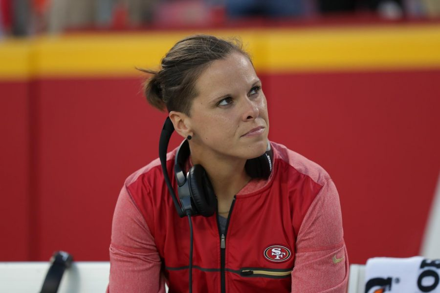Meet the woman who coaches the men of the 49ers
