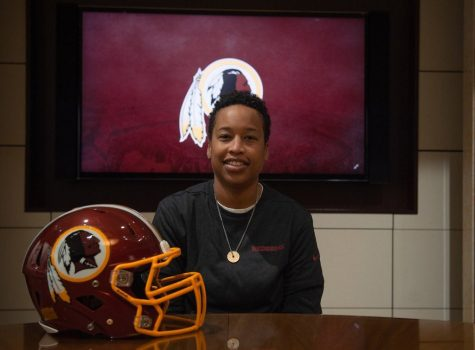 Meet the woman who coaches the men of the Redskins