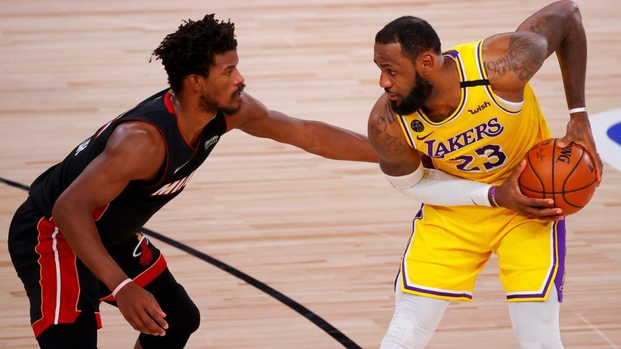 Los Angeles Lakers lose their chance of winning the title against the Miami Heat