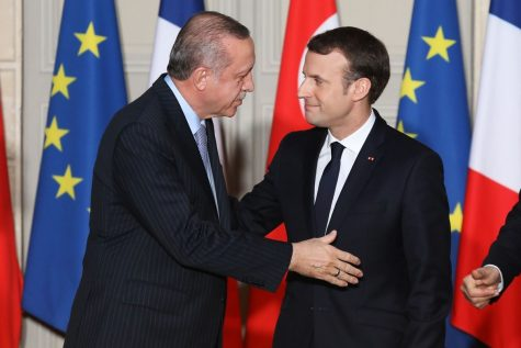 Tensions rise between Turkey and Greece; France intervenes on behalf of Greece