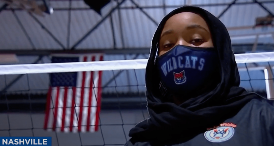 Muslim athlete gets disqualified before a volleyball game for wearing her hijab