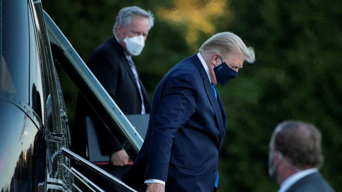 President+Trump+is+released+from+hospital