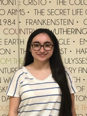 Managing Editor, Faith Arcuri, is ready to pursue a major in Journalism.