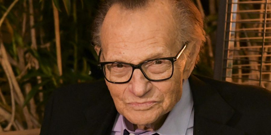 Journalist Larry King is admitted to hospital with COVID