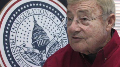 Charlie Brotman announces his 17th inauguration