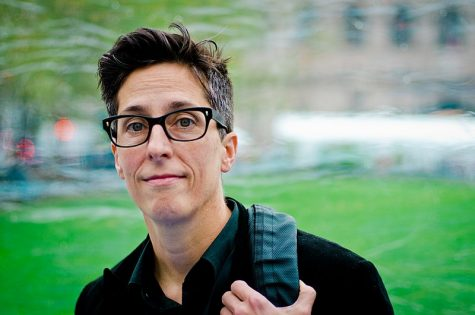 Alison Bechdel at the Boston Book Festival