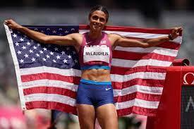 Sydney McLaughlin rules the track